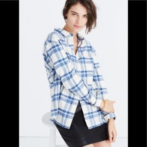 Madewell flannel size small